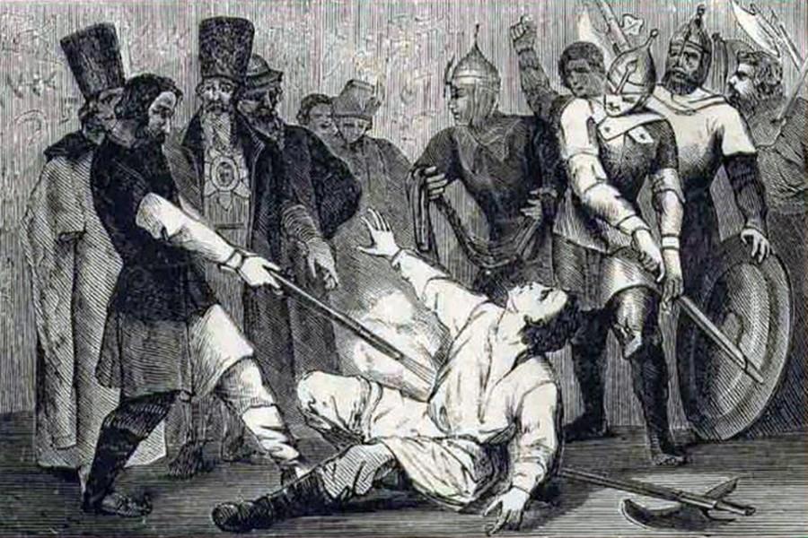 Англичане отравили Ивана Грозного и устроили Великую Смуту,