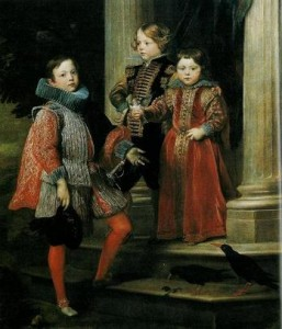 Anthonis van Dyck The Balbi Children 1625