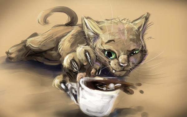 кот--кофе-1017097
