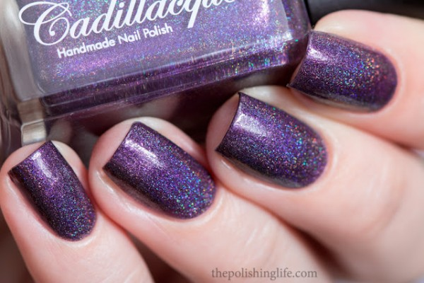 Cadillacquer My End And My Beginning swatch 2