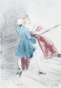 Duo from  La nuit et le Moment Crebillon1946-vi
