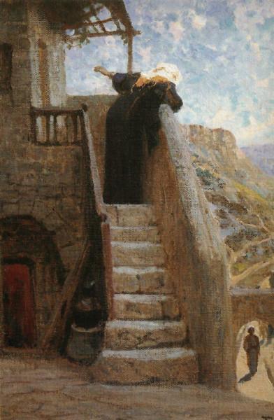 Марфа-приняла-Иисуса-в-дом-свой_-В_-Поленов_-1890-г