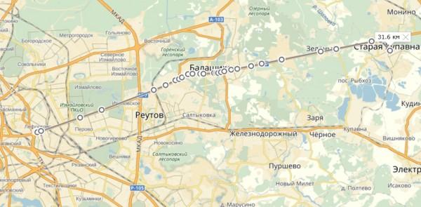 маршрут 161116