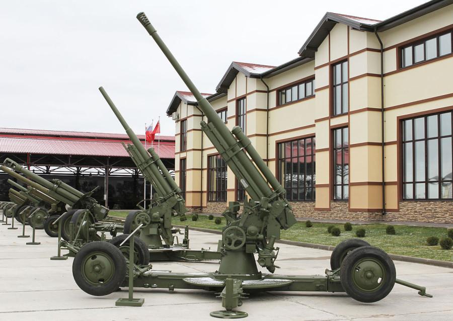 52-К в Музее отечественной военной истории, деревня Падиково.JPG