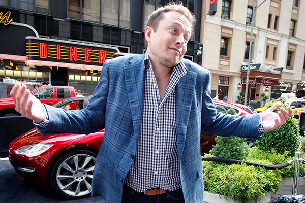 Tesla доставляет