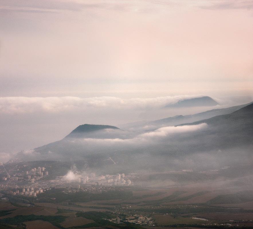 Про облака над морем и Алушту