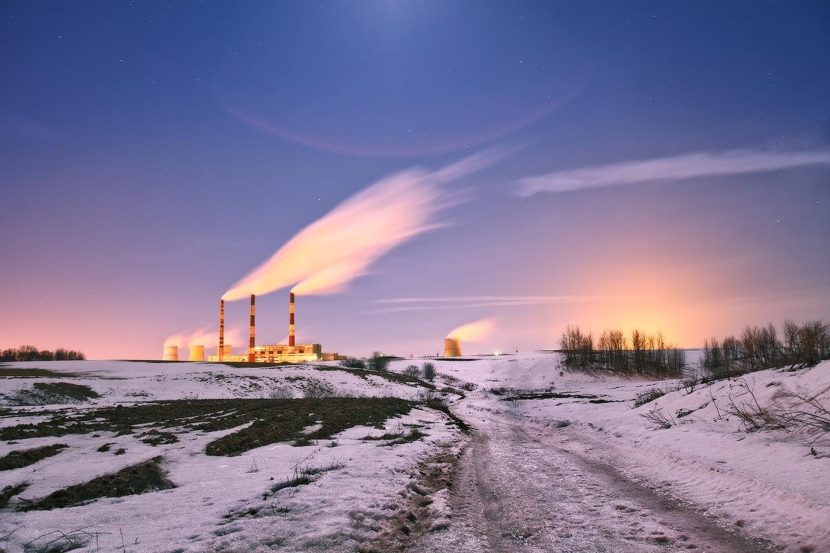 Зимняя индустриальная
