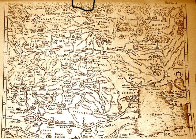 Карта «Польши и Венгрии» Из