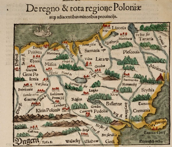 Старинные Карты Беларуси