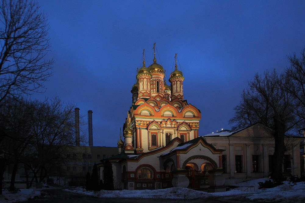 Saint Nicholas Church at Bersenevka