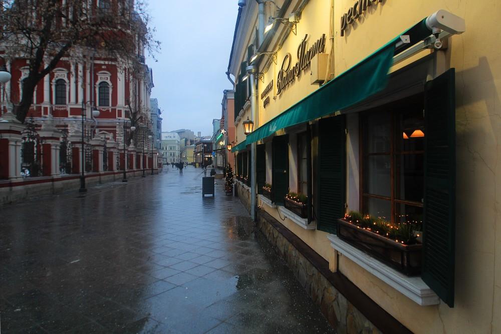 Moscow. Pyatntitskaya street