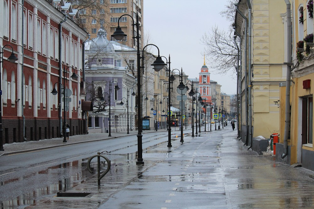 Москва. Пятницкая - Собянинцкая