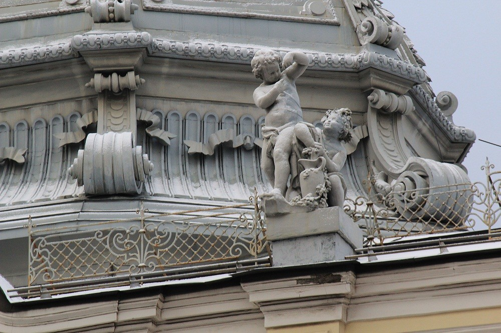 Moscow details. Sandunovskie Baths