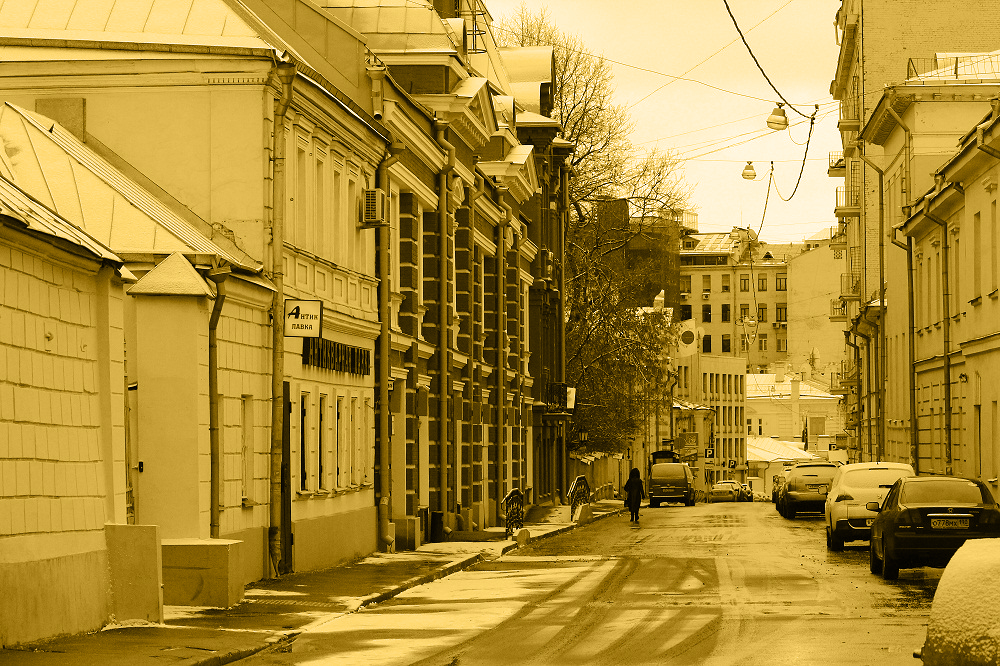 Bolshaya Nikitskaya with side streets