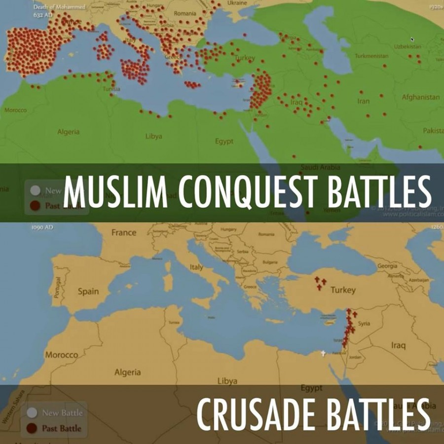 muslim conquest battles
