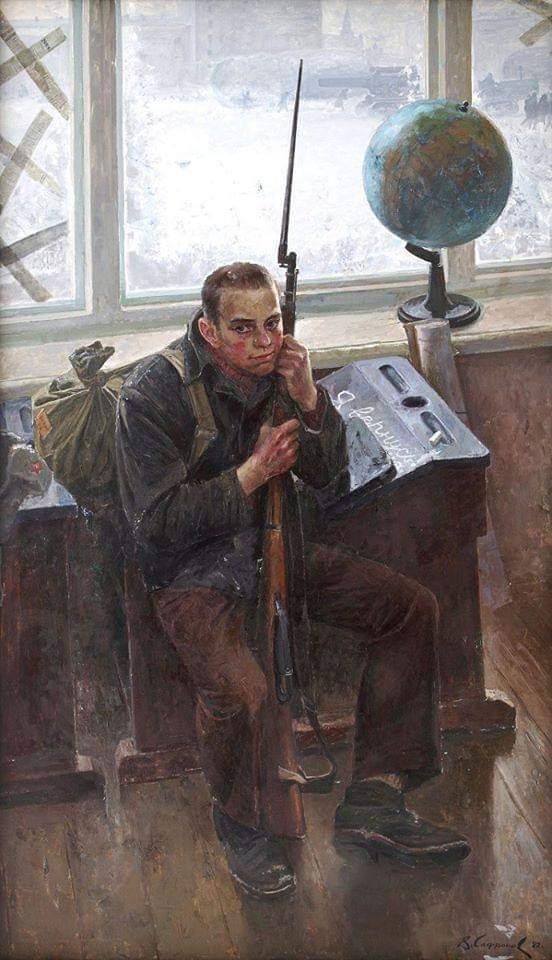 """Виктор Сафронов, 1982 год, """"Я вернусь"""""""