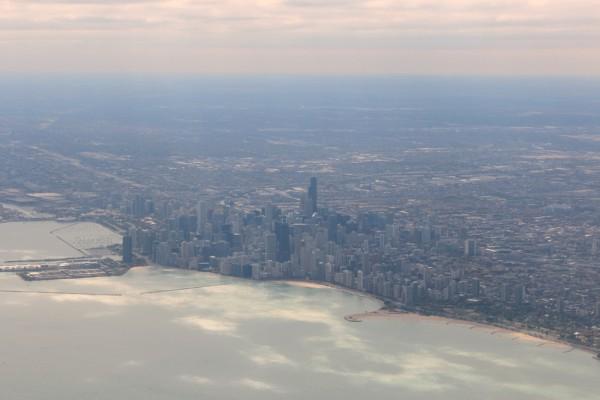 Чикаго (на подлёте)