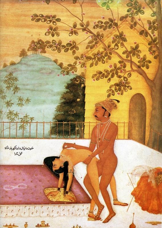 Порнографические рисунки древней индии