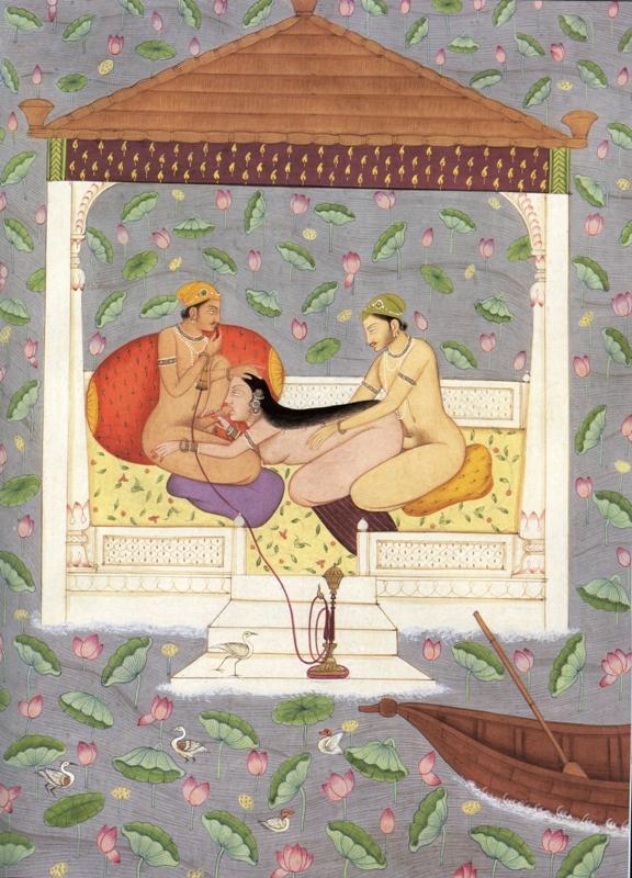 Индийские рисунки секс