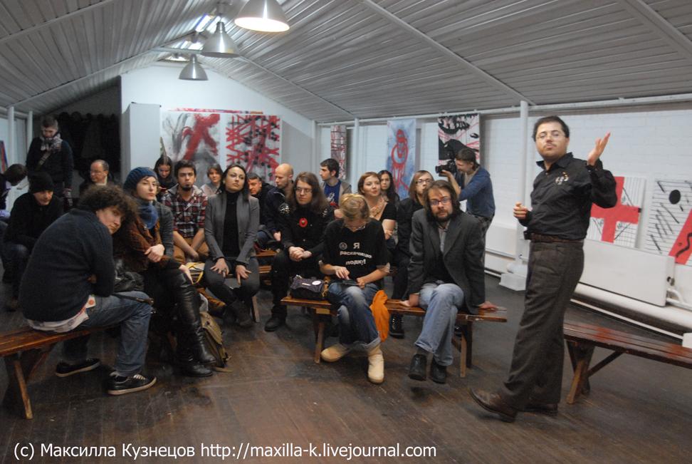Российское активистское искусство – 2012