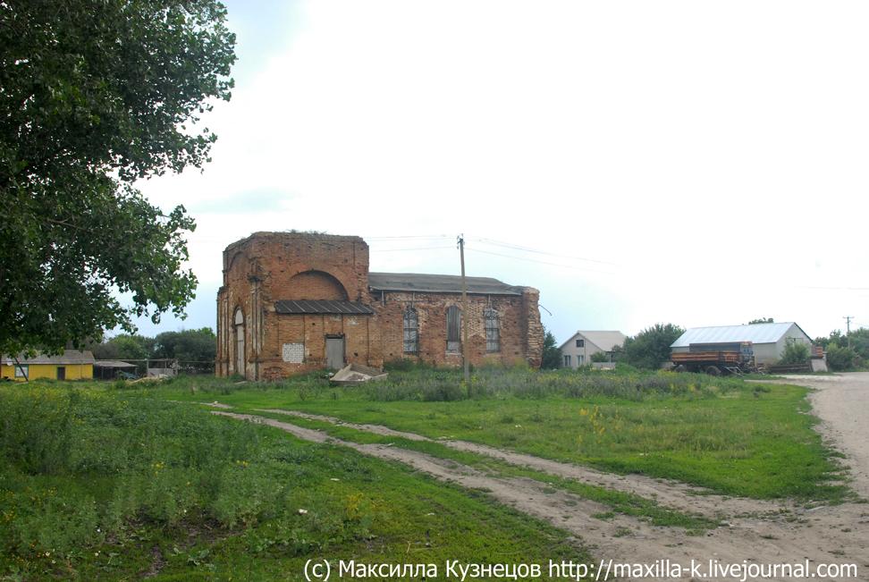церковь в Пухово