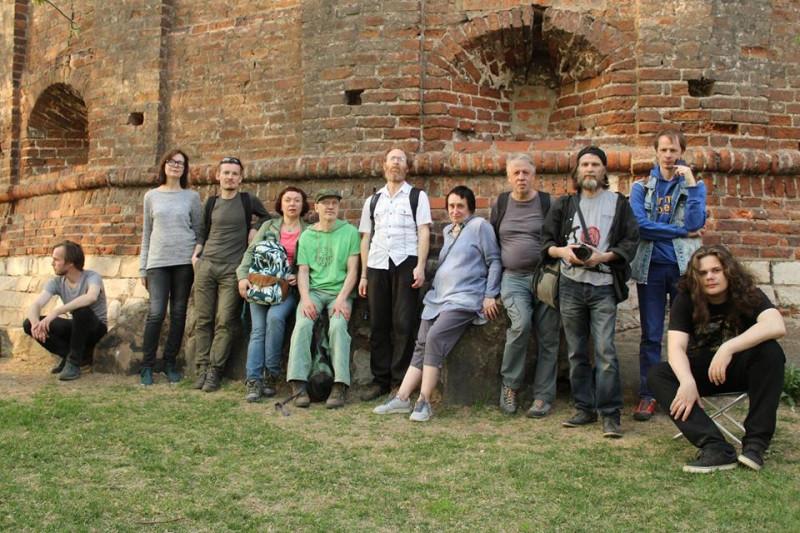 Участники похода по Нобелевской ветке