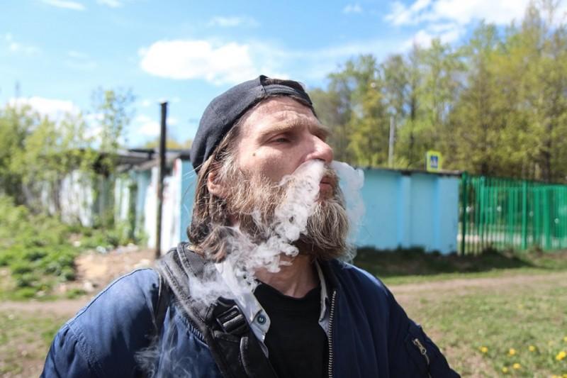 Колечками дыма