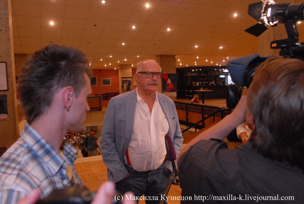 Интервью Михалкова
