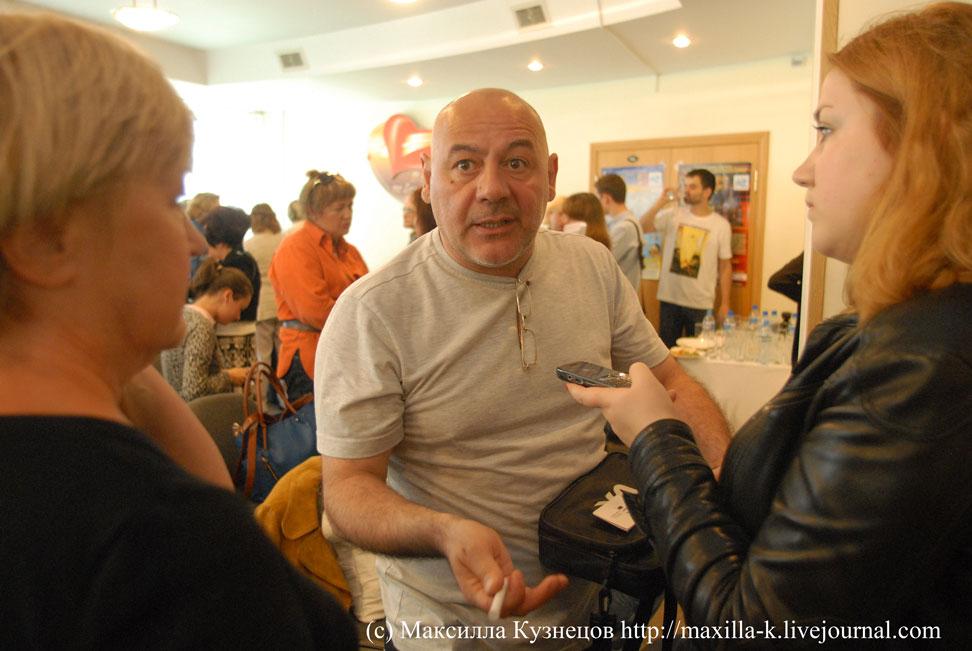 интервью Параджанова