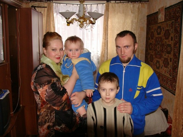 семья Смирновых из Суоярви