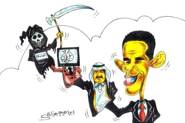 typical-arab-caricature-about-israeli-eu-usa 6