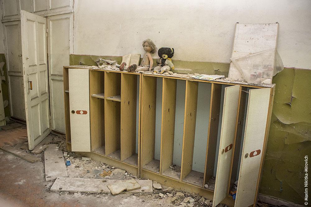 Заброшенный детский сад в