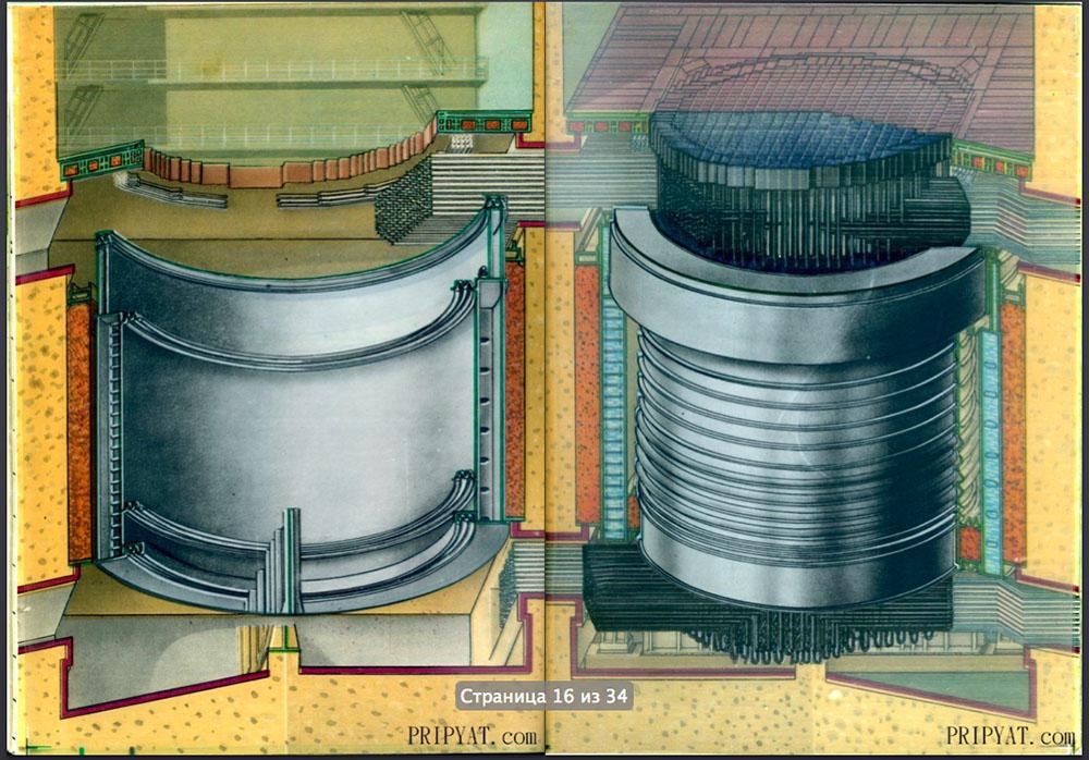 Раритетный буклет про Чернобыльскую АЭС. 09