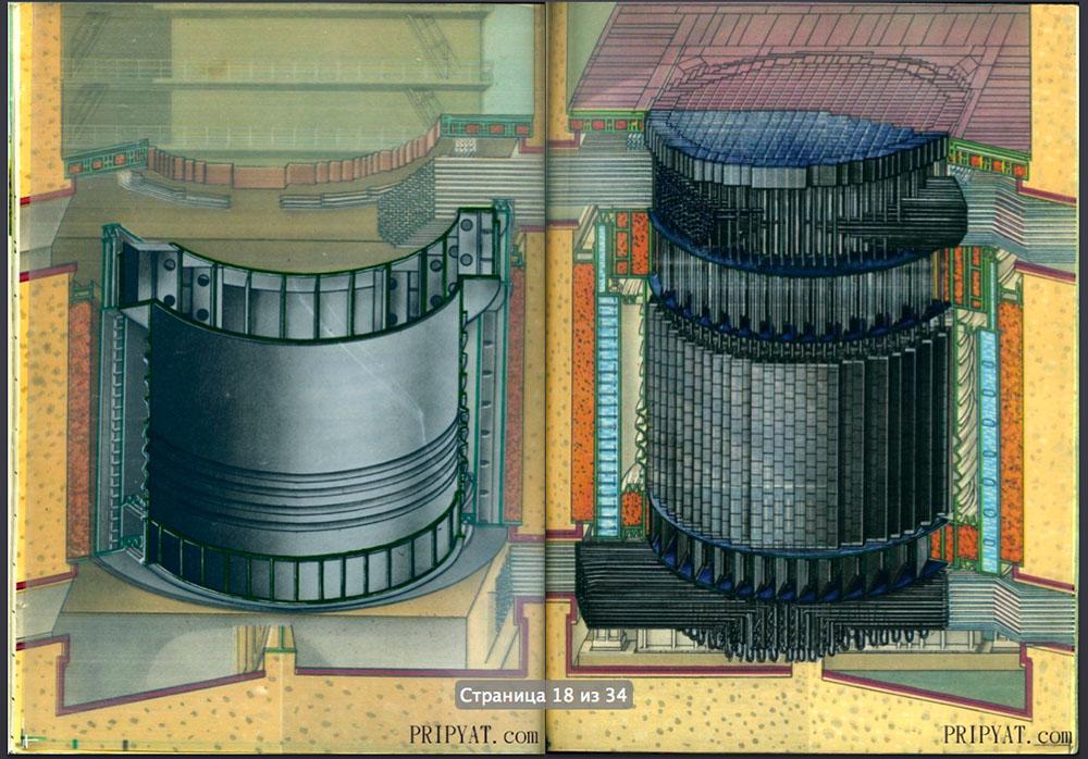 Раритетный буклет про Чернобыльскую АЭС. 10