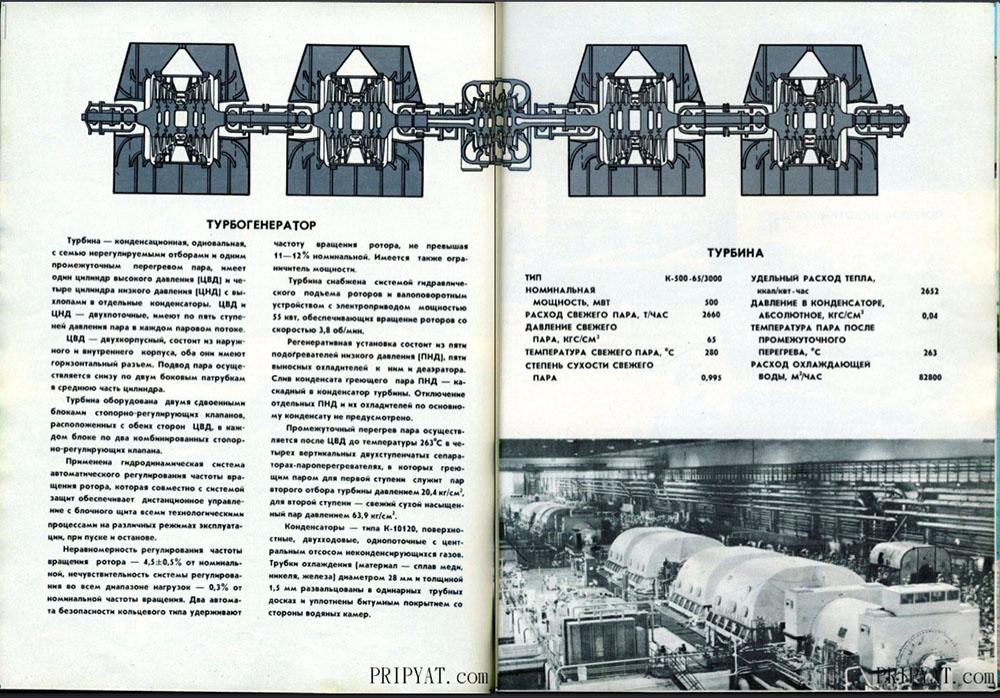 Раритетный буклет про Чернобыльскую АЭС. 14