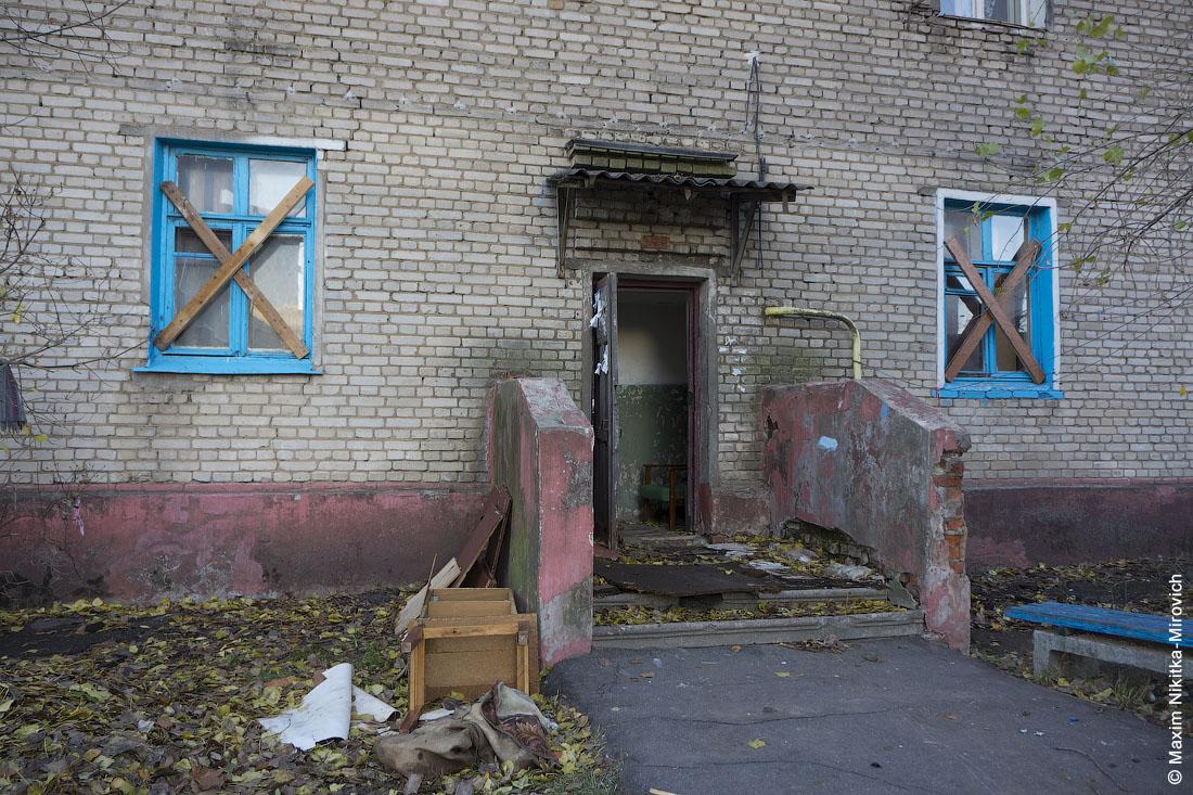 Заброшенные бараки на улице Авангардной.