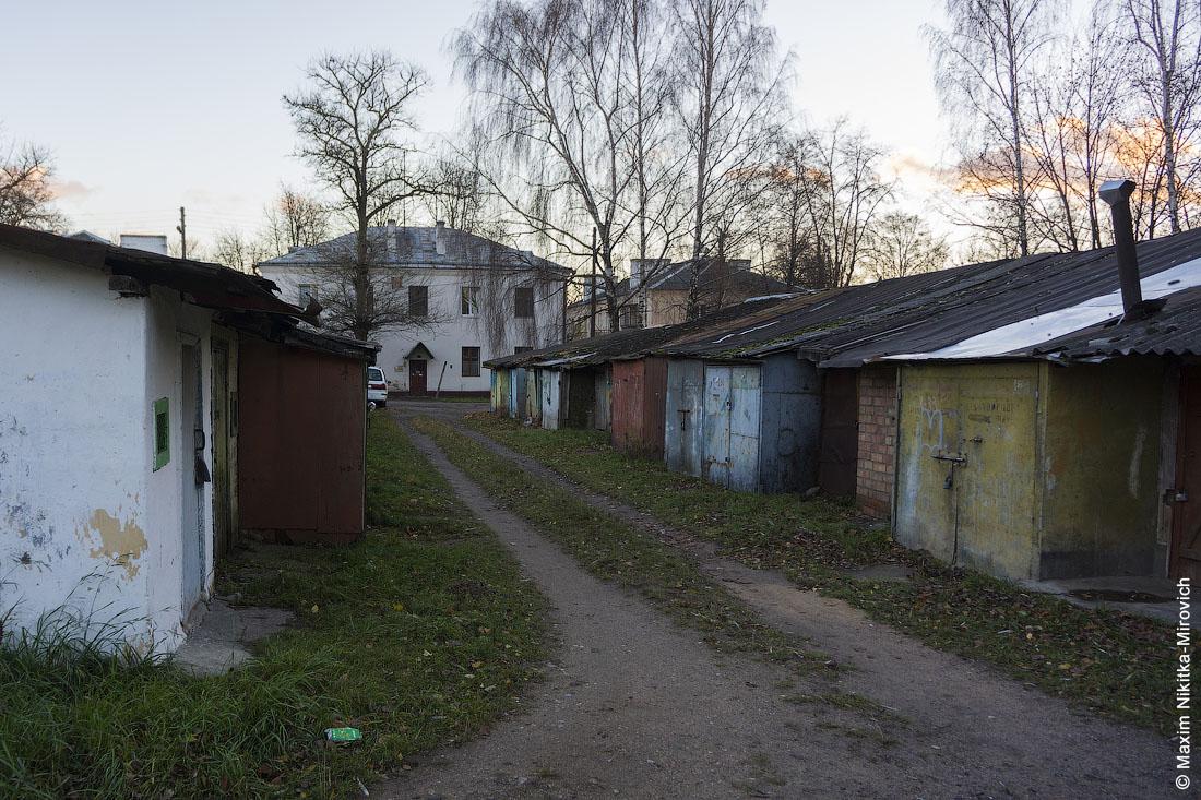 Старые дома на улице Запорожской.