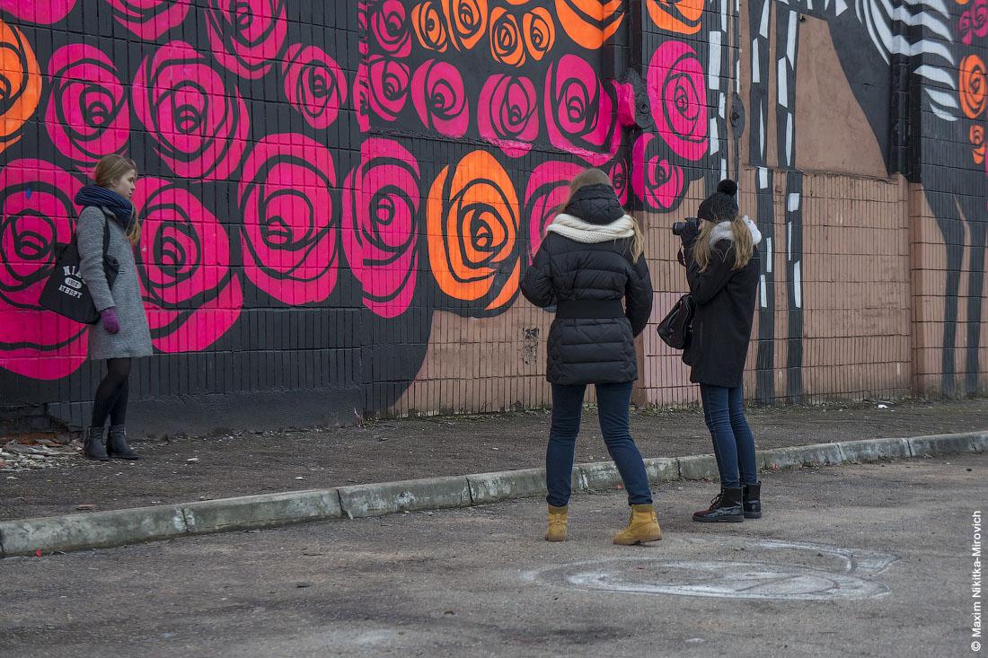 Граффити в городе, ваше отношение.