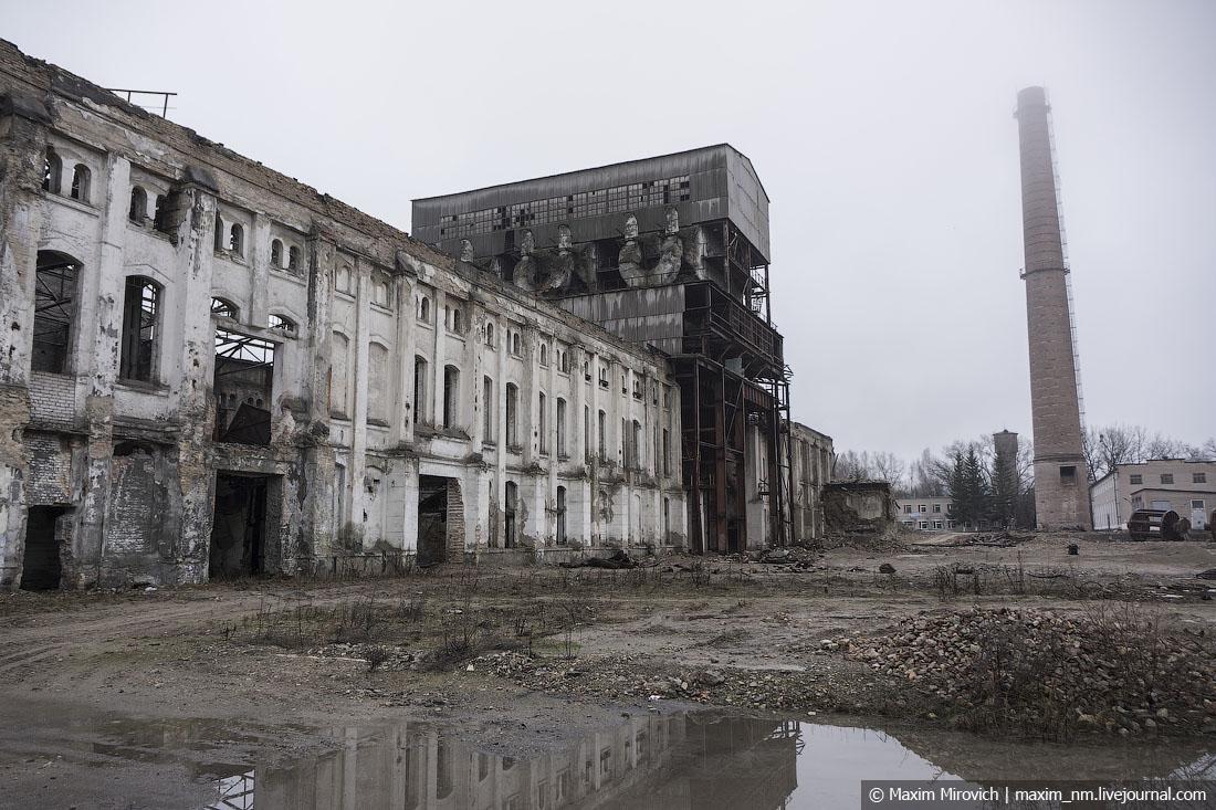 Заброшенный цементный завод 1913 года.