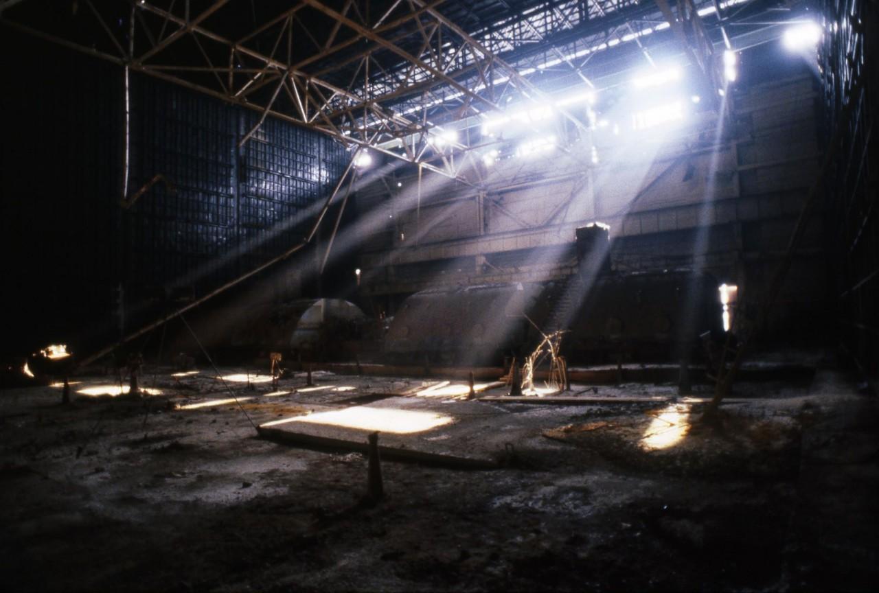 Чернобыль - внутри Саркофага.