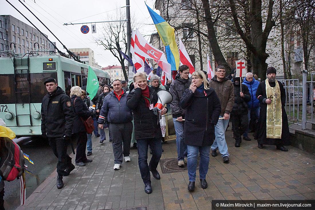 """""""Чарнобыльскi шлях-2016"""" в Минске, много фото."""