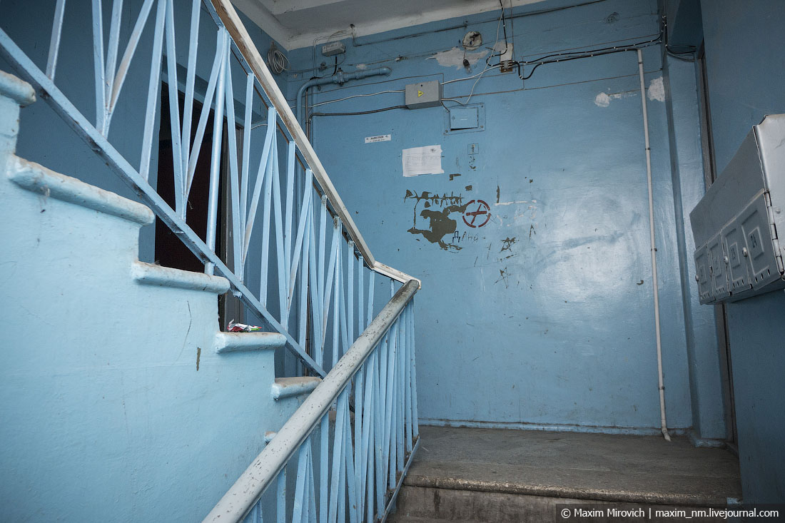 Почему лестницы в советских домах строились против часовой стрелки