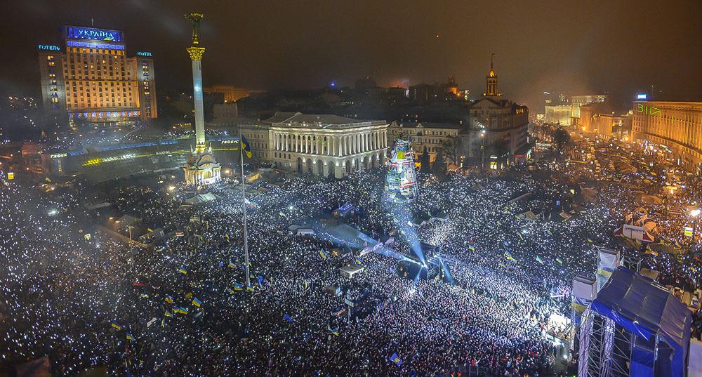 Почему Октябрьская революция это хорошо, а Майдан это плохо?