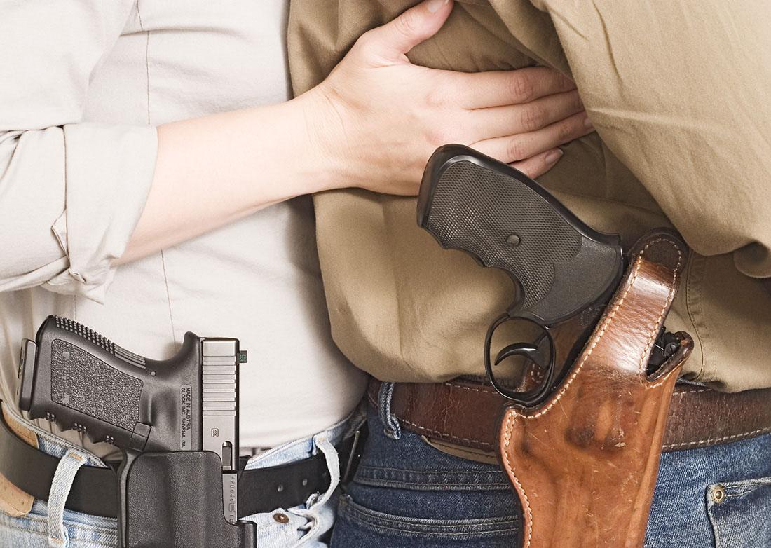 Свободное ношение оружия — вы за или против?