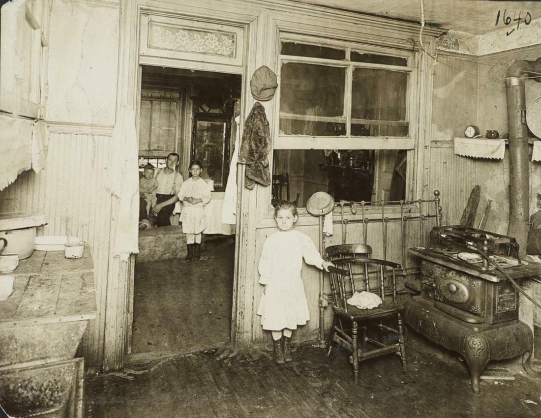 Квартиры старого Гарлема (без ретуши).