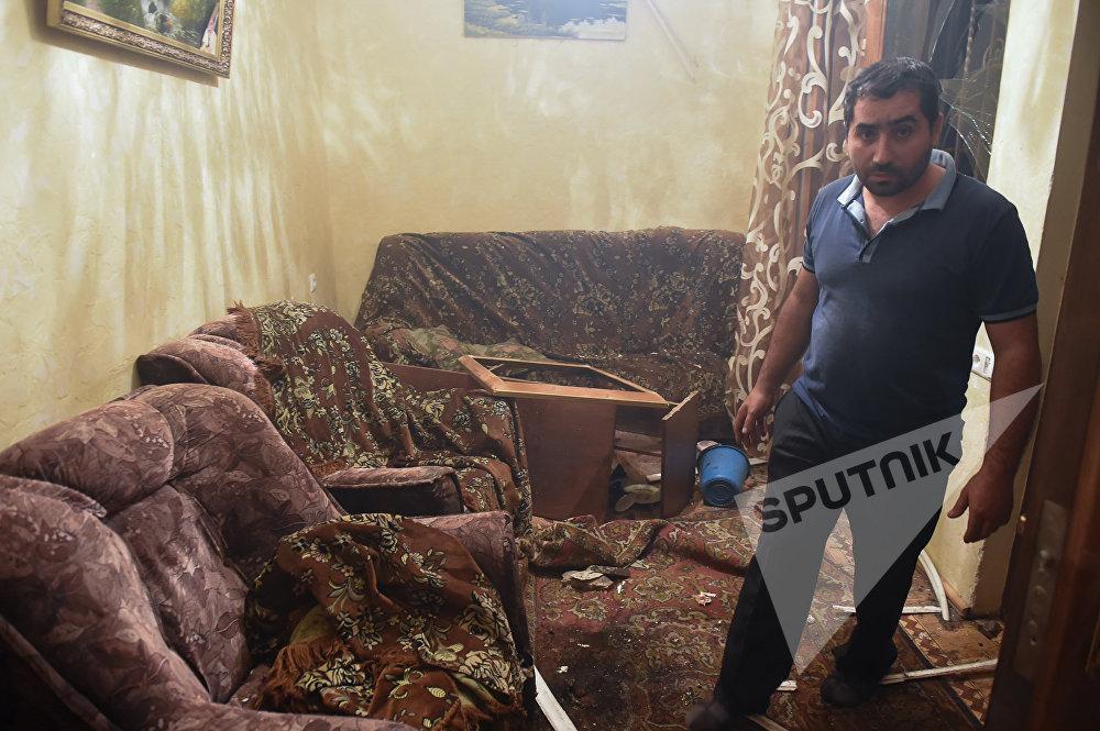 Что вчера ночью произошло в Ереване (фото).