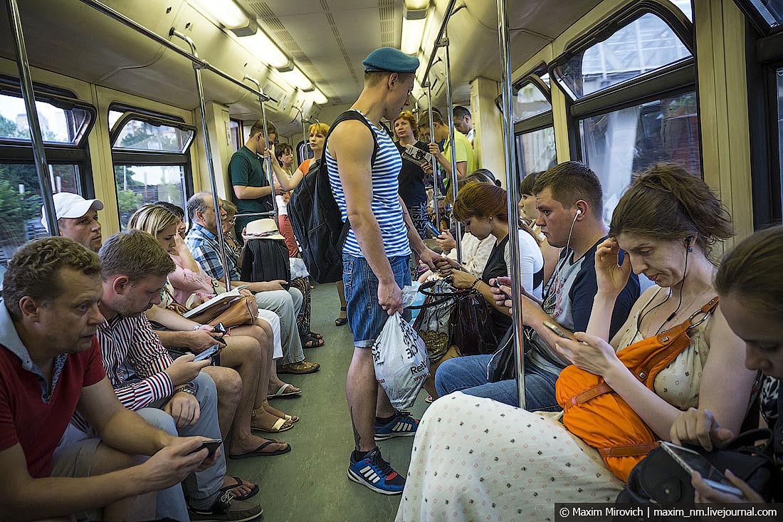 но я предпочитаю знакомиться в метро