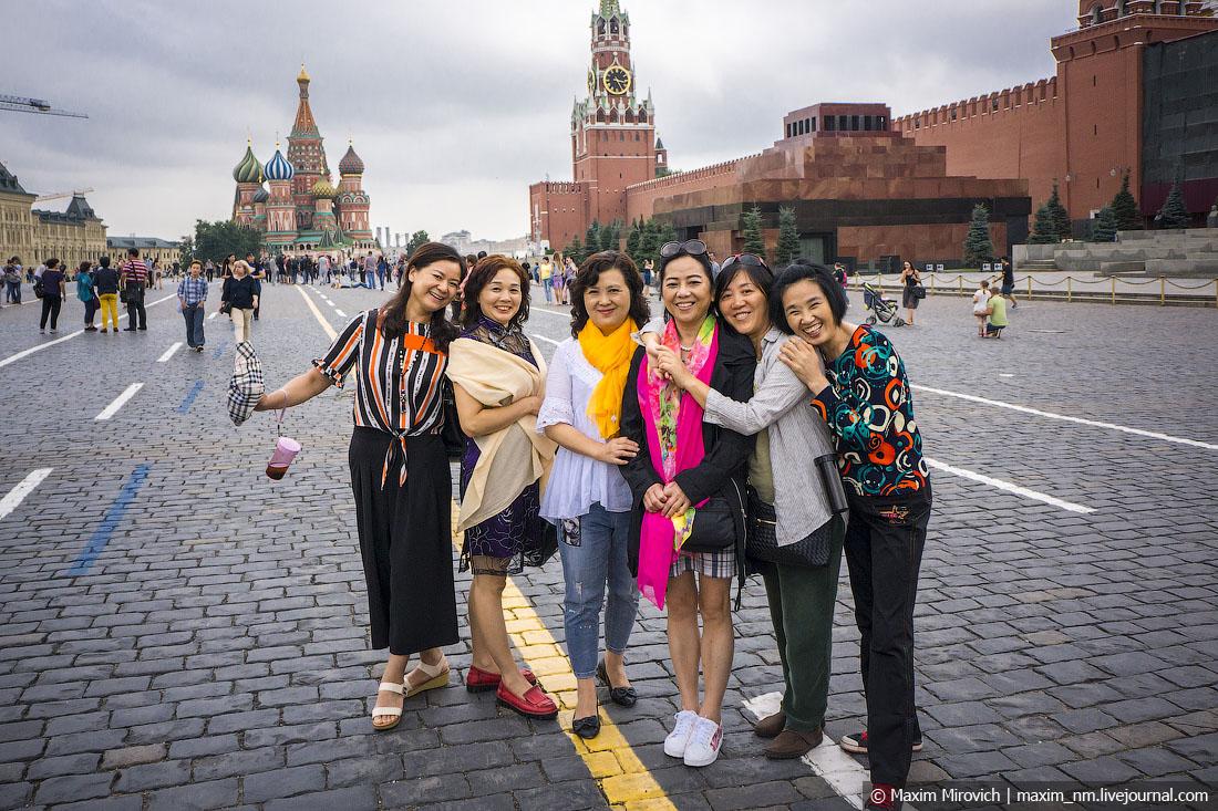 Китайские туристы перестраиваются