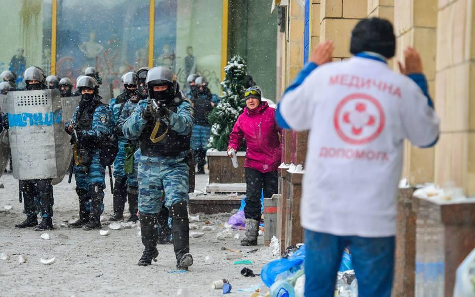Савченко воевала на стороне «Беркута»?