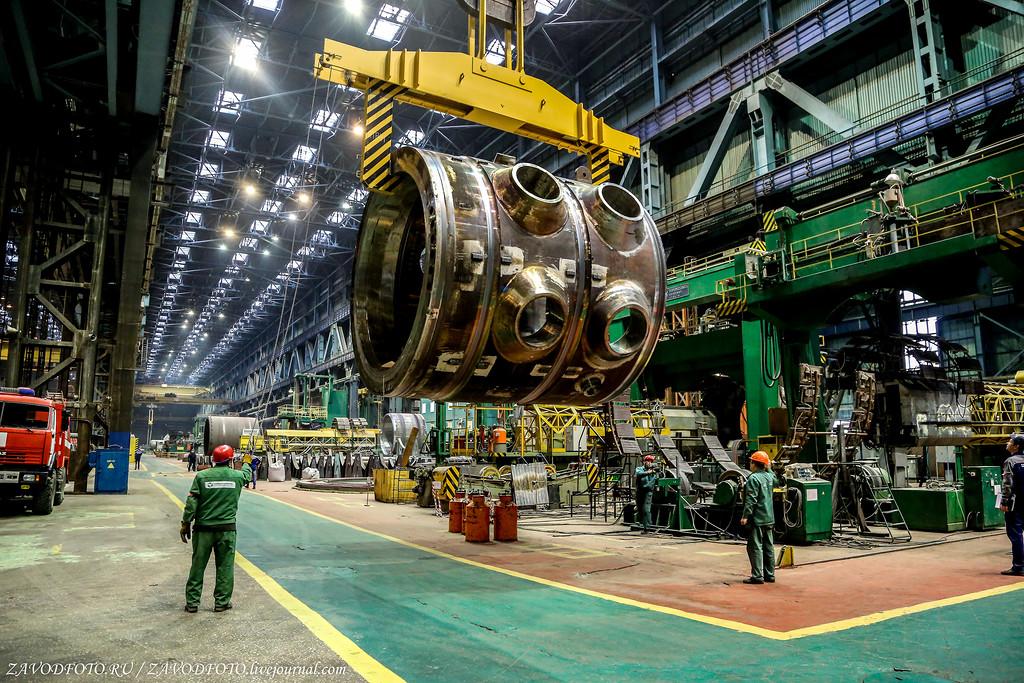 Упавший корпус реактора АЭС будет заменён.